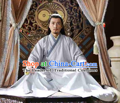 Chinese Ancient Taoist Clothing Complete Set for Men