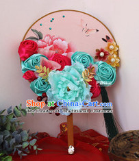Chinese Traditional Classical Handmade Dance Fan Dancing Fans