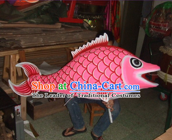 Traditional Chinese Big Celebration Super Big Fish Carp Parade Props