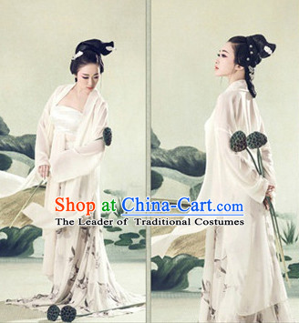Chinese Ancient Style Female Beauty Hanfu Clothes Complete Set