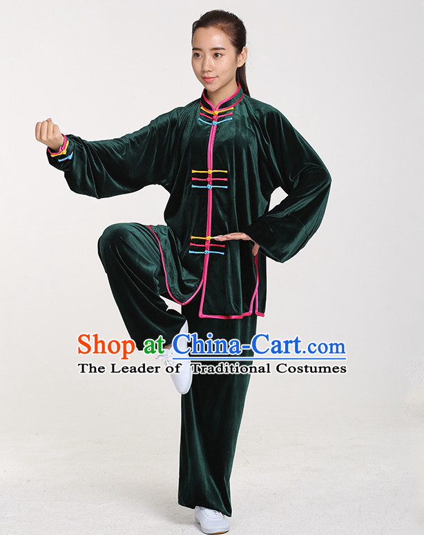 Top Chinese Traditional Taiji Tai Chi Suit Complete Set for Women or Men