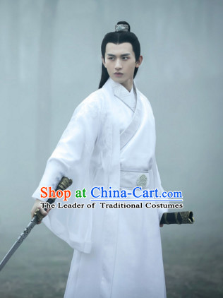 Traditional Chinese Han Dynasty Dress Chinese Knight Clothing Cloth China Attire Oriental Dresses for Men