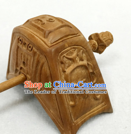 Ancient Traditional Asian Chinese Style Taoist Headwear Coronet