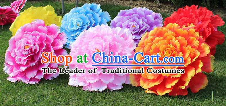 Traditional Dance Umbrella Props Flower Umbrellas Dancing Prop Decorations