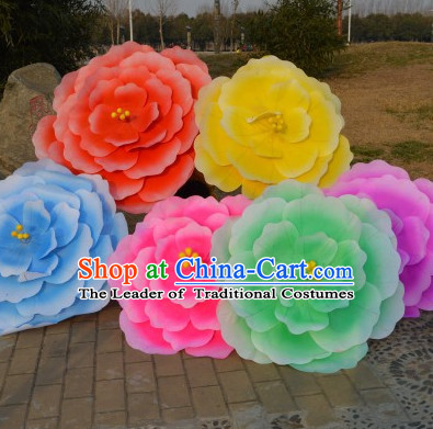 Traditional Dance Peony Umbrella Props Flower Umbrellas Dancing Prop Decorations