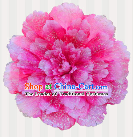 Traditional Dance Props Flower Umbrella Dancing Prop Decorations for Men Women Adults