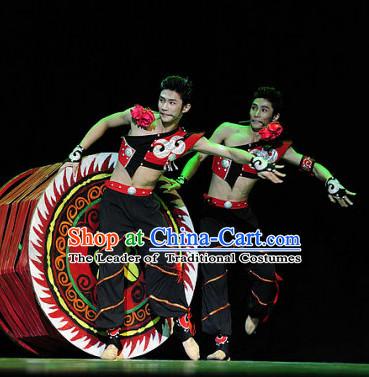 804d0f81c Chinese Classic Ethnic Dance Costume Folk Dancing Costumes ...