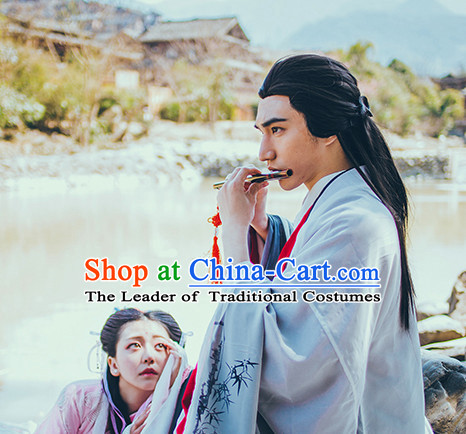 Chinese Traditional Oriental Dress Hanfu Clothing Asian Dresses Fashion Cheongsam Dress China Clothing for Men