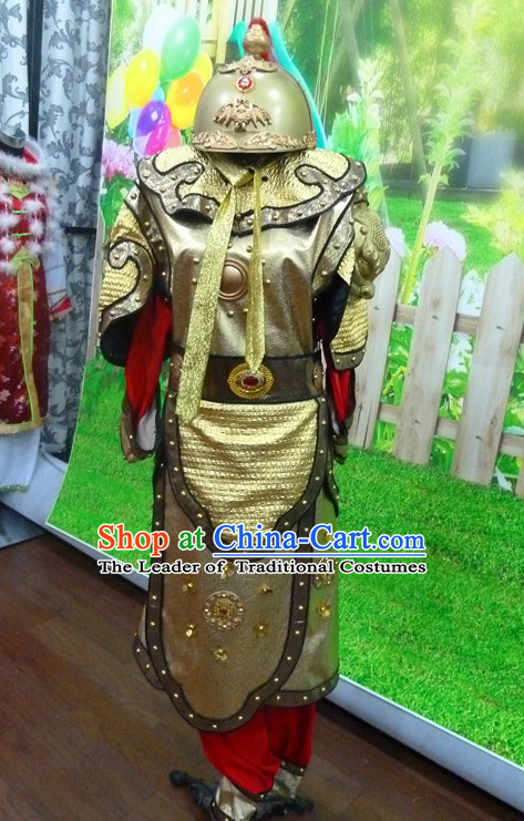 Chinese Traditional Dress Hanfu Costume China Kimono Robe Ancient Chinese Clothing National Costumes Gown Wear and Head Jewelry for Men