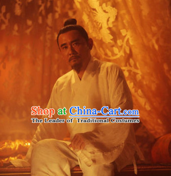 Ancient Chinese Tang Dynasty and Han Dynasty Emperor Inside Clothing Pajamas for Men or Boys
