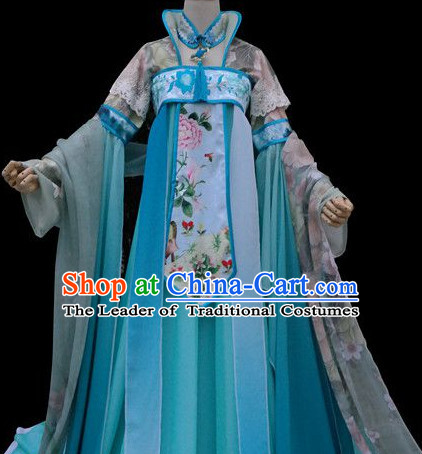 Chinese Traditional Empress Garment Clothes Complete Set