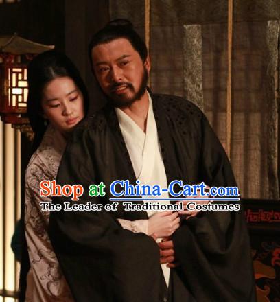 734f84023d Ancient Chinese Emperor Pajamas Hanfu Han Fu Clothing Complete Set