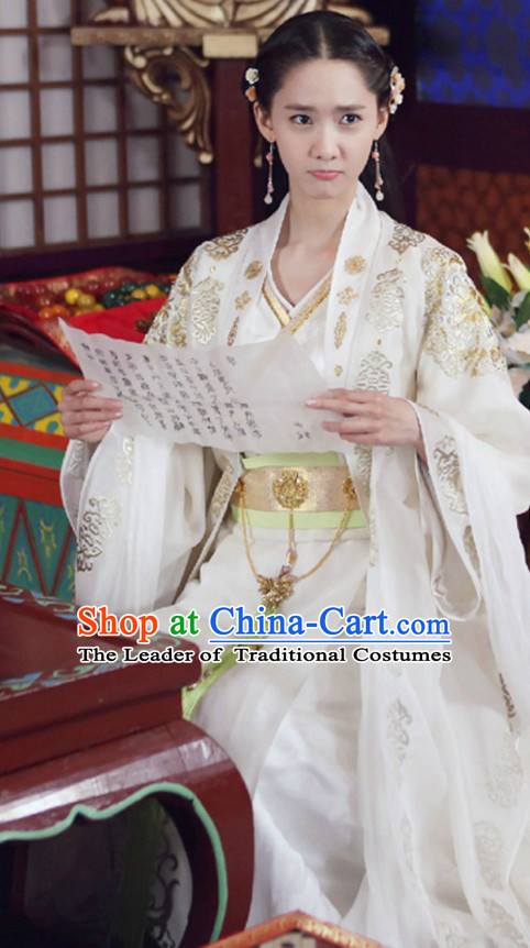 Traditional Chinese Ancient Princess Clothes Complete Set for Women