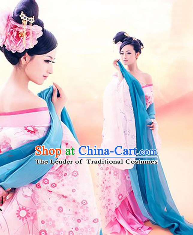 Chinese Ancient Dress  Traditional Garment Folk Costume Asian Garment