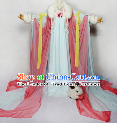 Chinese Women Traditional Royal Empress Dress Cheongsam Ancient Chinese Princess Clothing Cultural Robes Complete Set