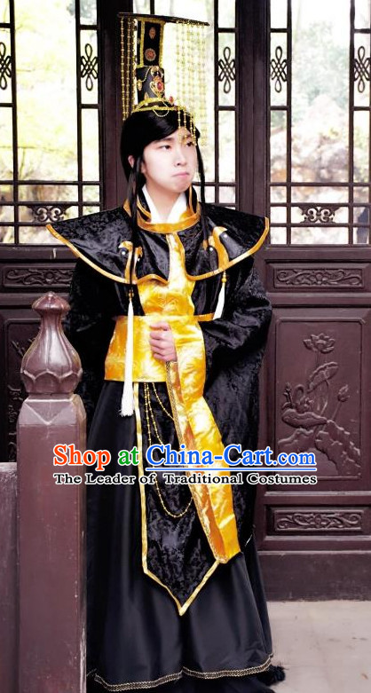 Chinese Traditional Stage Performance Hanfu Cosplay Prince Costume Chinese Cosplay Hanfu Halloween Costume Party Costume Fancy Dress