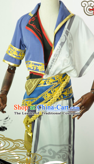 Chinese Themed Clothing Traditional Chinese Clothes Hanfu National Costumes for Men