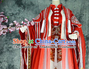 Ancient Chinese Stage Royal Dress National Costume Halloween Costumes Hanfu Chinese Dresses Chinese Clothing