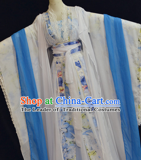 Ancient Chinese Stage Palace Princess Costume National Costume Halloween Costumes Hanfu Chinese Dresses Chinese Clothing