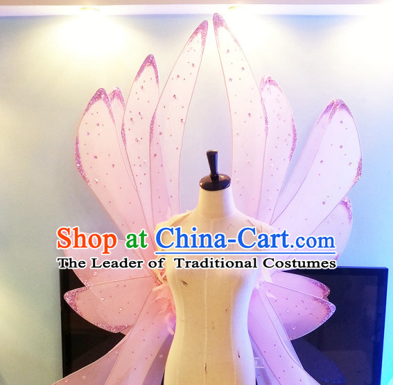Unique Design Giant Wings Stage Costumes Theater Costumes Professional Theater Costume for Women