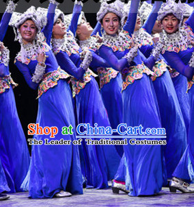 Chinese Traditional Ethnic Stage Costumes Theater Costumes Professional Theater Costume for Women
