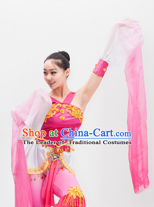 Water Sleeve Stage Costumes Theater Costumes Professional Theater Costume for Women