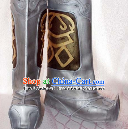 Top Chinese Cosplay Suphero Supheroine Long Boot Boots