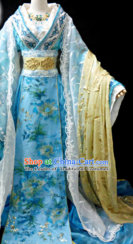 Ancient China Princess Floral Clothes Traditional Costumes High Quality Chinese National Costume Complete Set for Women