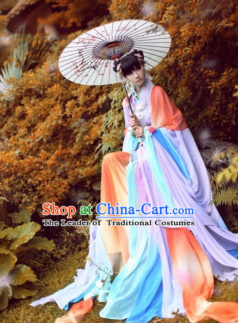 Ancient Chinese Princess Costume Hanfu Clothing High Quality Chinese National Costumes Complete Set for Men