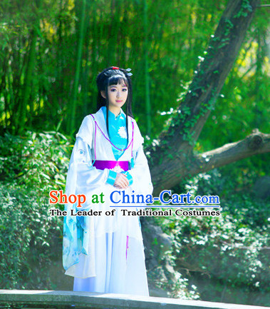Ancient China Swordswoman Costume Traditional Costumes High Quality Chinese National Costumes Complete Set for Women