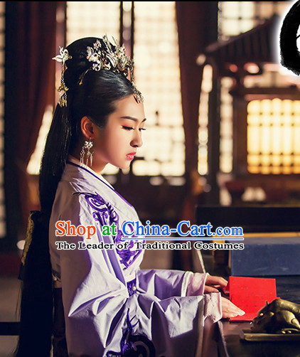 Ancient China Princess Garment Traditional Costumes High Quality Chinese National Costumes and Accessories Complete Set for Women