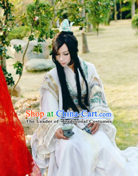 Ancient Chinese Dresses Hanzhuang Han Fu Han Clothing Traditional Chinese Dress Hanfu National Costume Complete Set for Men or Boys
