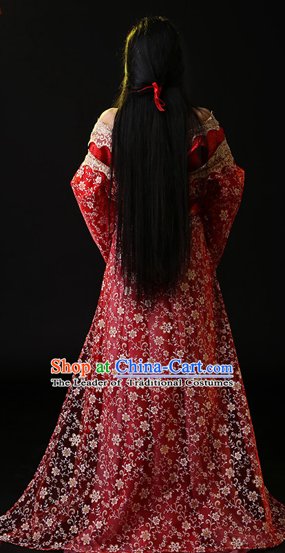 Ancient Chinese Dress China National Costumes Asian Outfits