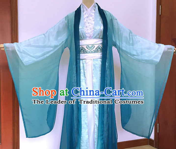 Ancient Chinese Style Halloween Costumes Costume Complete Set for Men