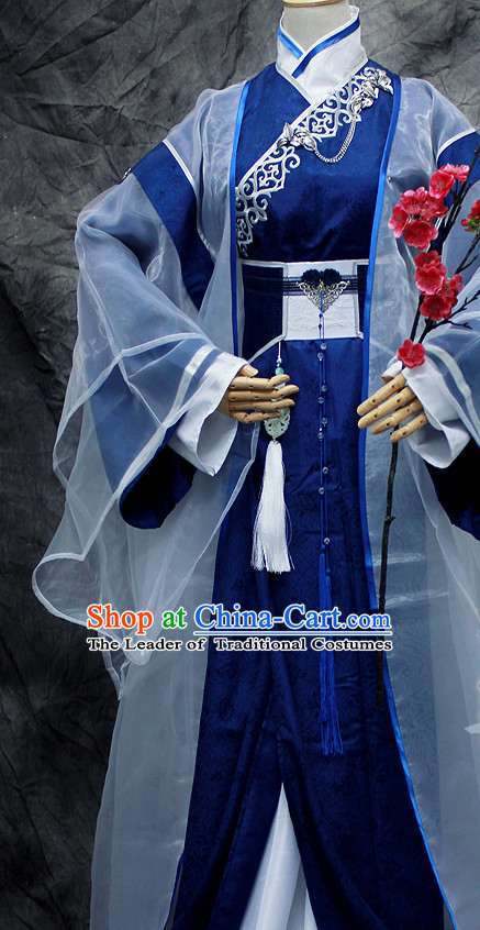 Chinese Classical Emperor Imperial Dresses Hanfu Han Fu Complete Set for Men