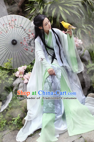 Top Chinese Ancient Princess Dresses Theater and Reenactment Costumes Complete Set for Women Girls