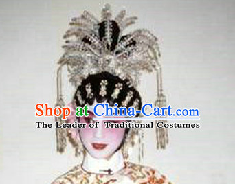 Handmade Chinese Cantonese Opera Phoenix Hair Decorations Headpieces for Women