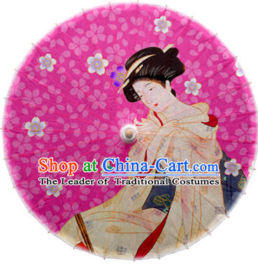 Asian Dance Umbrella China Handmade Classical Geisha Umbrellas Stage Performance Umbrella Dance Props
