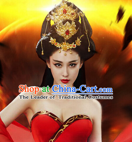 Chinese Ancient Beauty Headpieces Hair Ornaments Set