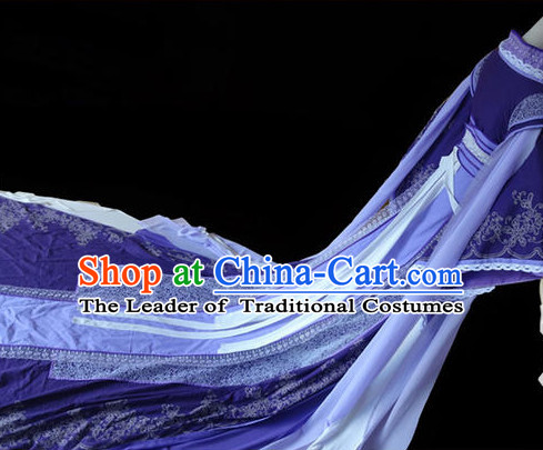 Chinese hanfu Hakama Traditional Dress Quju Supreme Chinese Costume complete set Ancient Chinese Costume