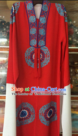 China Beijing Opera Men Costume Embroidered Robe Stage Costumes Complete Set