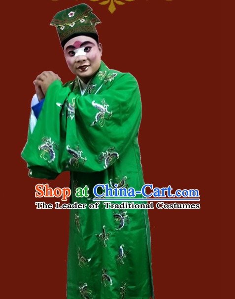 Chinese Opera Beijing Opera Peking Opera Costume Embroidered Robe Hua Dan Opera Costumes and Headdress Complete Set