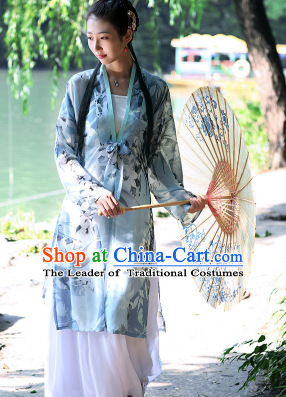 Ancient Chinese Song Dynasty Women Han Costume Dress Hanfu Suit