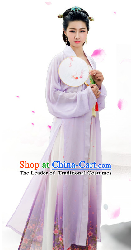 Chinese Hanbok Kimono Stage Opera Costume Dresses Costume Ancient Cosplay Complete Set