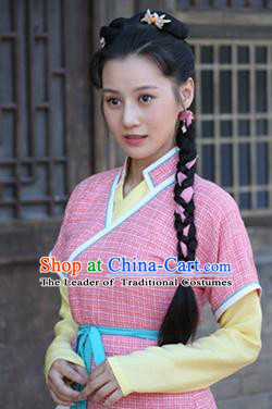 Chinese Ancient Female Style Long Black Wigs