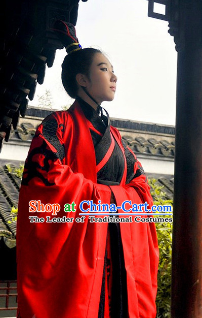 Ancient Chinese Dresses Traditional Royal Stage Hanfu Classical Dress Costumes Clothing