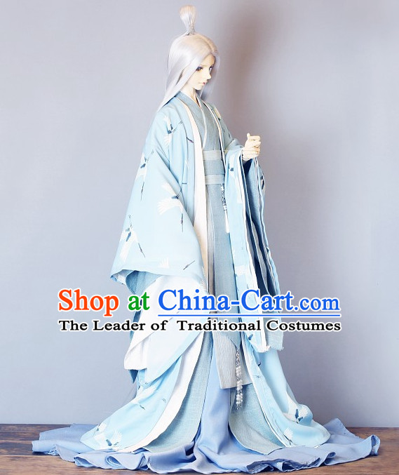 Ancient Chinese Emperor Men Costumes Palace Clothing Traditional Costumes Complete Set