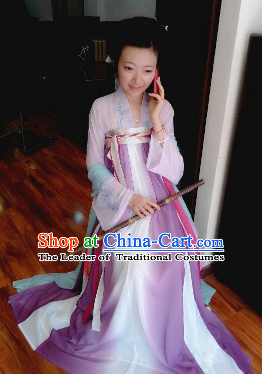 Traditional Chinese Ancient Tang Dynasty Clothing Imperial Dresses Beijing Classical Chinese Hanfu Clothing for Women