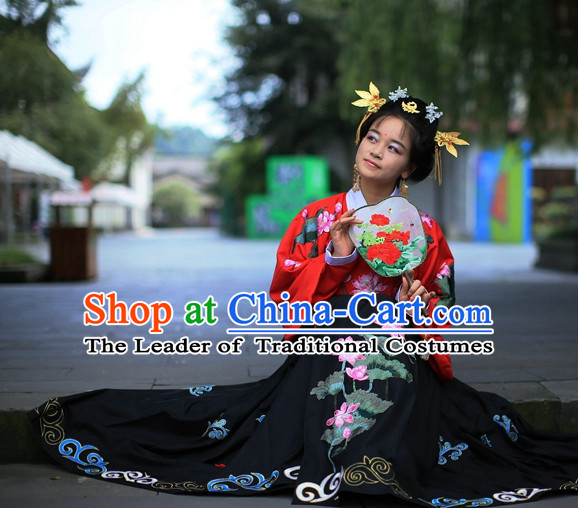 Traditional Chinese Ancient Ming Dynasty Clothing Imperial Dresses Beijing Classical Chinese Clothing for Women