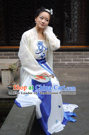 Traditional Chinese Ancient Tang Dynasty Dragon Robe Clothing Imperial Dresses Beijing Classical Chinese Clothing for Women